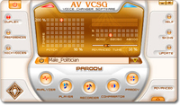 screenshot of AV Voice Changer Software Gold